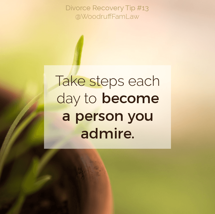 Divorce Recovery Tip 13