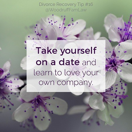 Divorce Recovery Tip 16