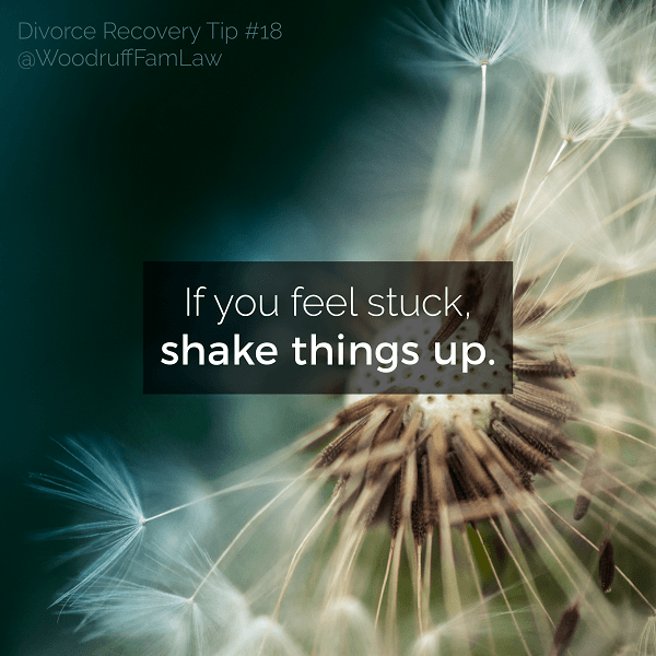 Divorce Recovery Tip 18