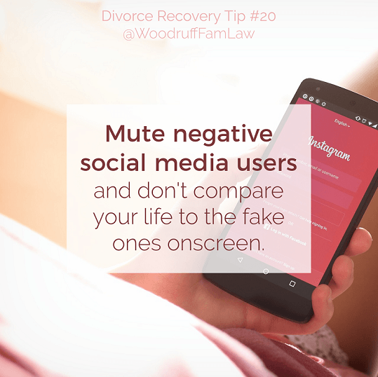 Divorce Recovery Tip 20