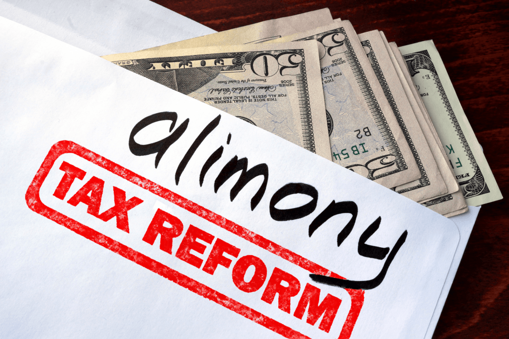 Alimony Tax Reform: Part 2, Section 1